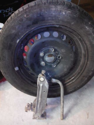 Kit rueda de repuesto