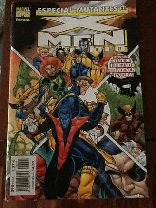 Cómic X-men Unlimited. Especial Mutantes 22