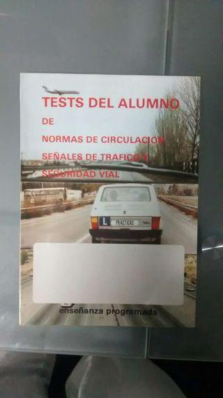 Test conducir 1982 y boletín DGT 1991
