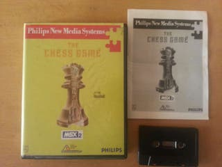 The chess game MSX2 (philips new media systems)