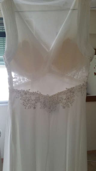 vestido de novia de marca de segunda mano en valencia en wallapop
