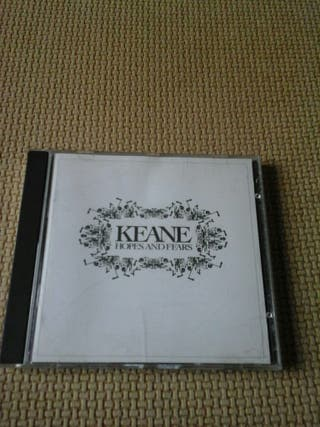 Cd de KEANE ( edición importada USA, portada blanca)