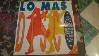 Disco vinilo Lo más disco