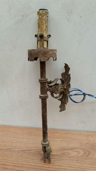 Aplique de pared rustico lampara punto de luz