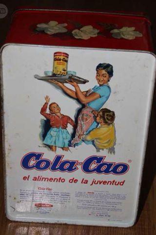Caja Cola Cao años 70