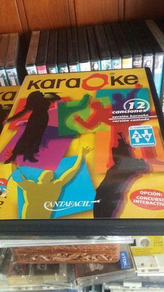 Dos dvd de karaoke