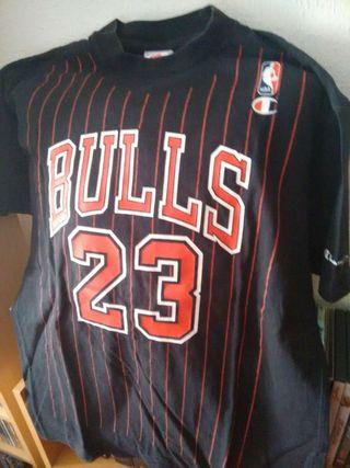 Camiseta Chicago Bulls. Michael Jordan. Años 90. Talla M