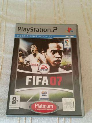 Fifa 2007 playstation 2