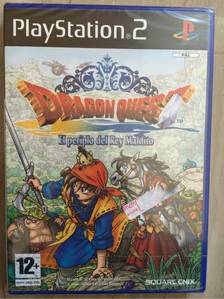 Dragon Quest El Periplo del Rey Maldito Playstation 2 PS2