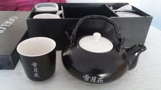 Oferta! Juego de TÉ Japonés de cerámica NUEVO