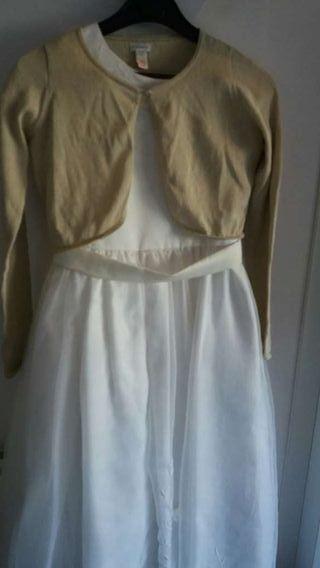 Vestido comunión niña talla 12 El Corte Inglés