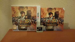 Street fighter 3d nintendo 3ds