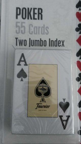 Barajas de poker Fournier