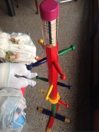 Perchero Infantil lápiz