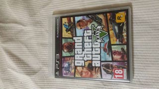 Juego Play Station 3 GRAND THEFT AUTO V sin usar