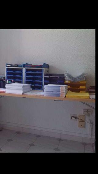 Bandejas oficina y archivadores AZ
