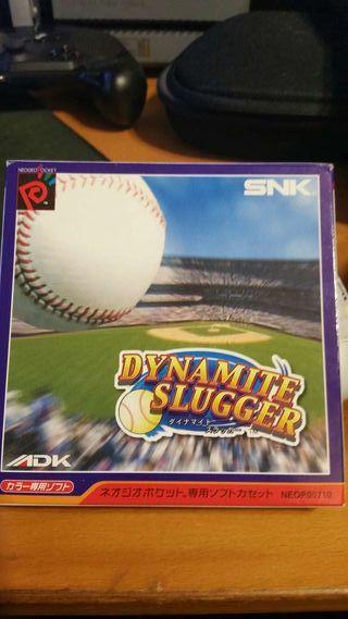 Dynamite Slugger Neogeo pocket color
