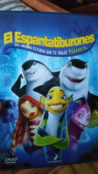 Pelicula dvd el espantatiburones shrek dreamworks