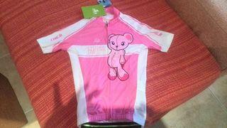 Maillot ciclismo niña