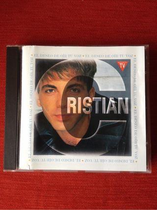Cristian CD El Deseo De Oir Tu Voz