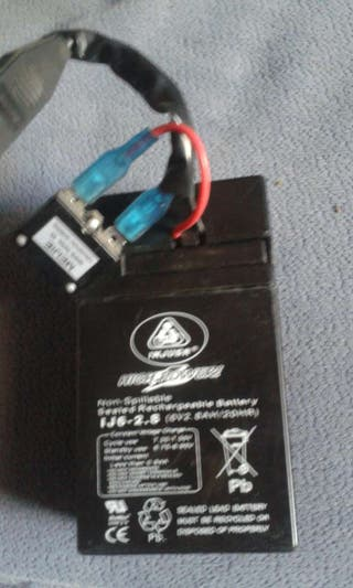 Bateria coche niño