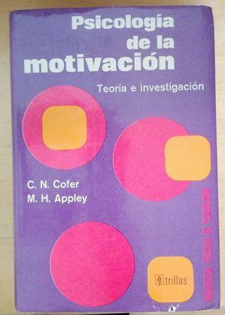 Psicología de la motivación. Teoría e investigación.