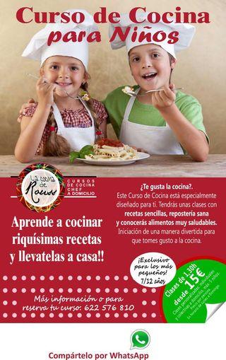 Fuensanta O. Curso De Cocina Para Niños15 U20ac