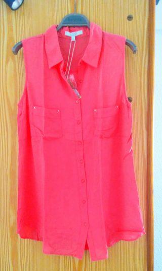camisa rosa Sfera