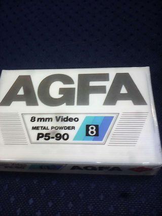 Cinta de video 8mm