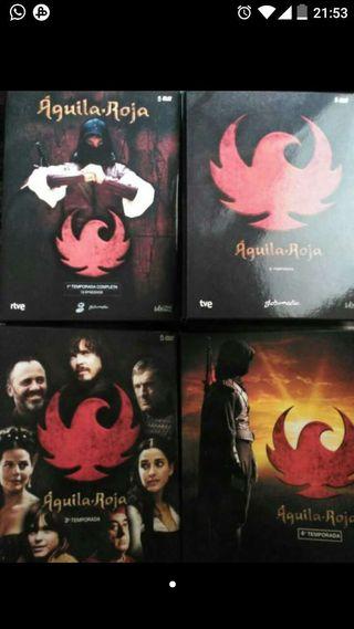 Serie aguila roja. Dvds. Temporadas 1 y 2.