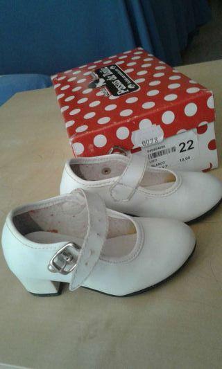 Zapatos de flamenta