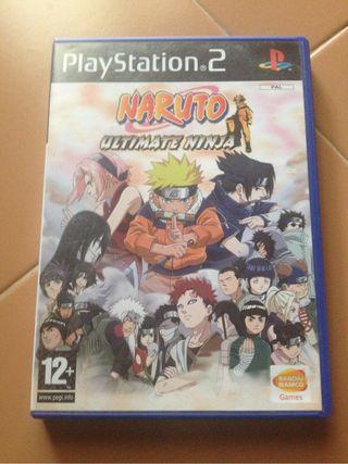 Naruto Ultimate Ninja 1 PS2