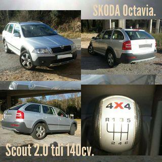 Skoda Scout 2.0 tdi 140cv. 4x4