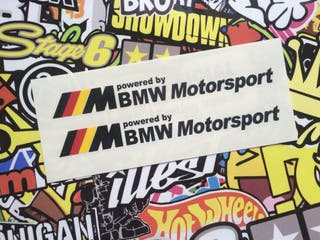 Vinilo Bmw Motorsport Alemania X2