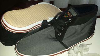 Zapatillas ALL X, n ° 42, gris y negra. NUEVAS