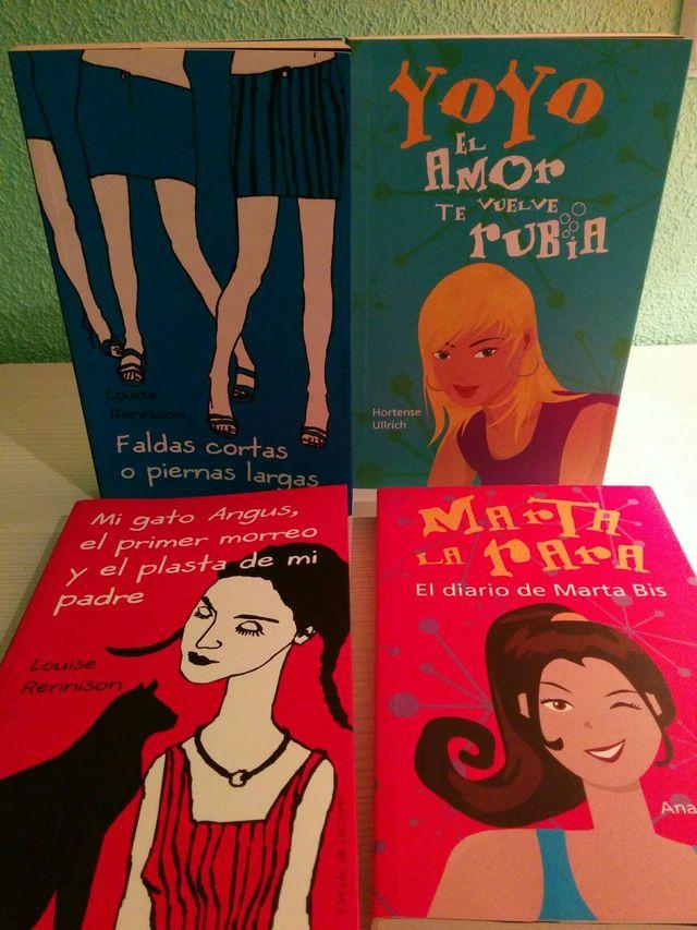 1ff1ae0c10 Libros para chicas adolescentes de segunda mano por 5 € en Madrid en ...