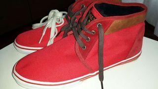 Zapatillas ALL X, n ° 42, rojas. NUEVAS! !!