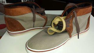 Zapatillas ALL X, n°42 color beige. NUEVAS! !!