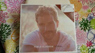 CD-DVD Pablo Alborán TERRAL NUEVO