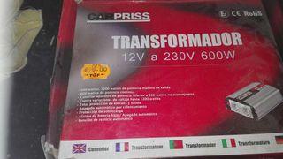 Transformador 12V a 230V