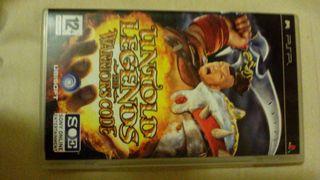 Juego PSP (Untold Legends the warriors code)