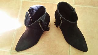 Botines negros talla39