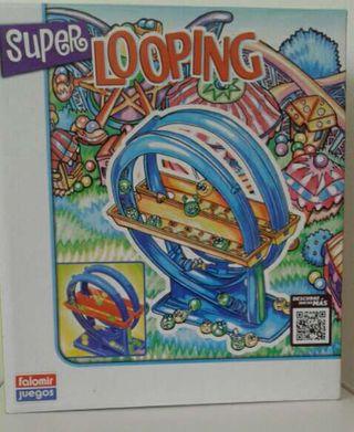 juego Super Looping nuevo con la caja