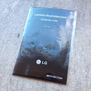 Lámina de protección
