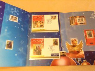 Sellos Italianos Natale /Navidades Año 2005