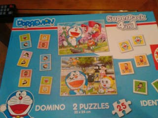 Doraemon. Superpack 4 en 1