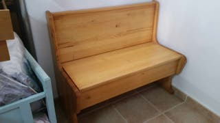 2 Banco de madera