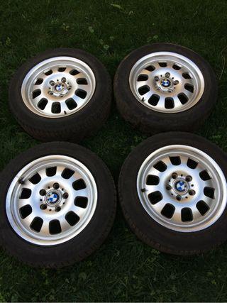 Llantas Originales 16 BMW E46 +Neumáticos michelin