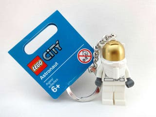 astronauta Llavero Lego City