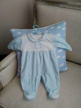 Pijama de bebé talla 3 meses